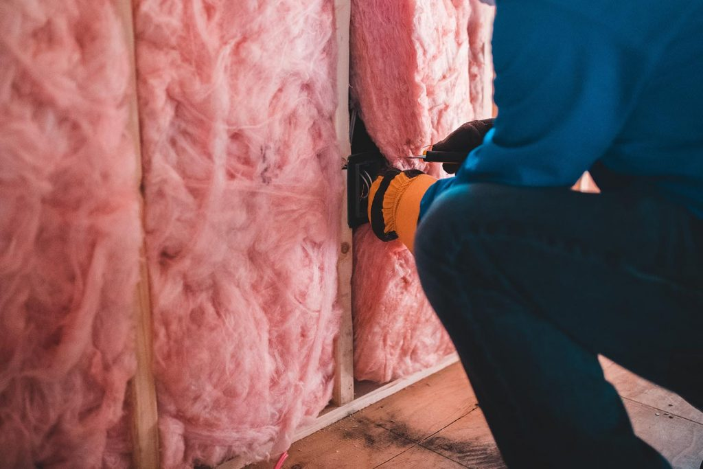 Visible Wall Insulation