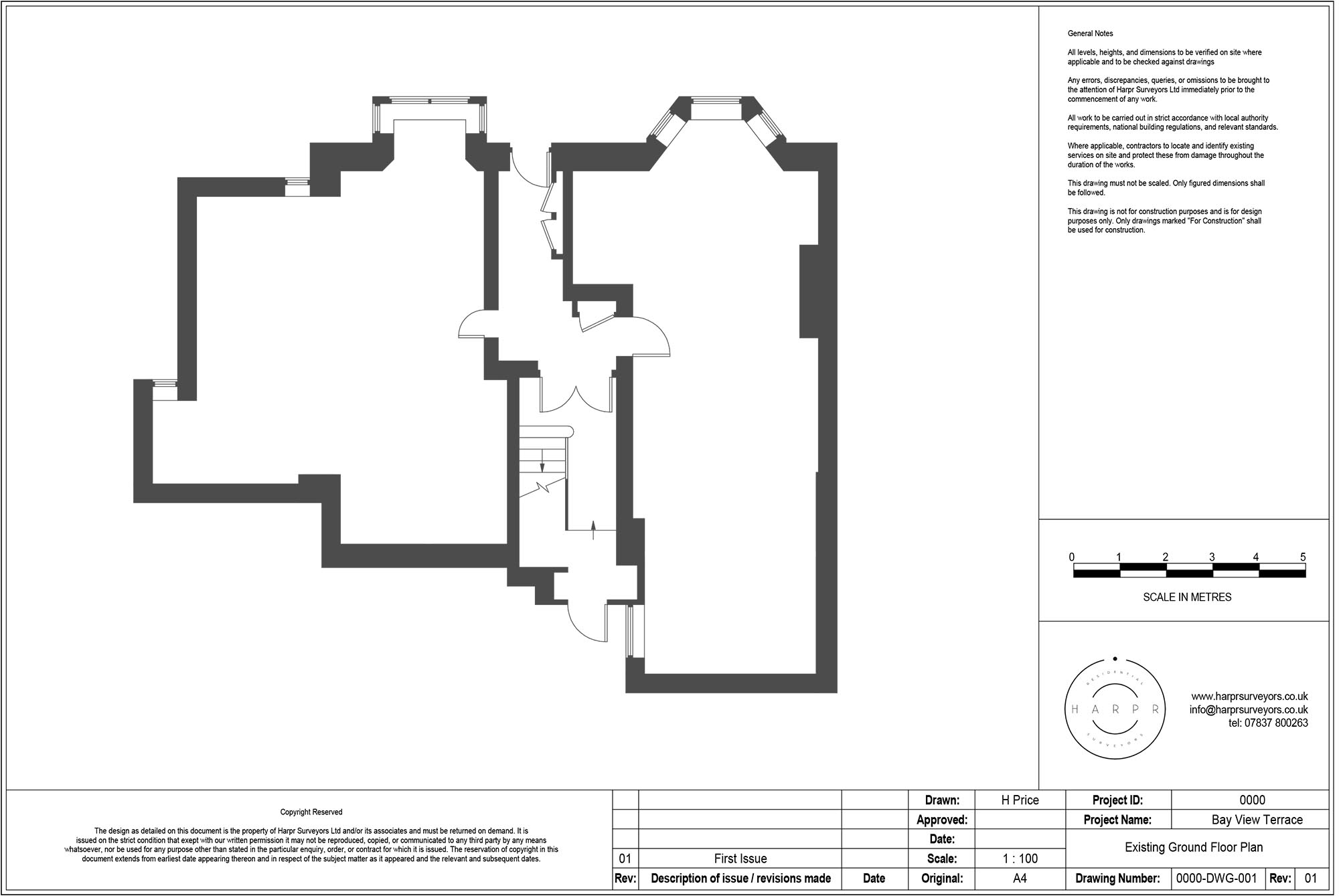 Bay View Terrace Scaled Floor Plan