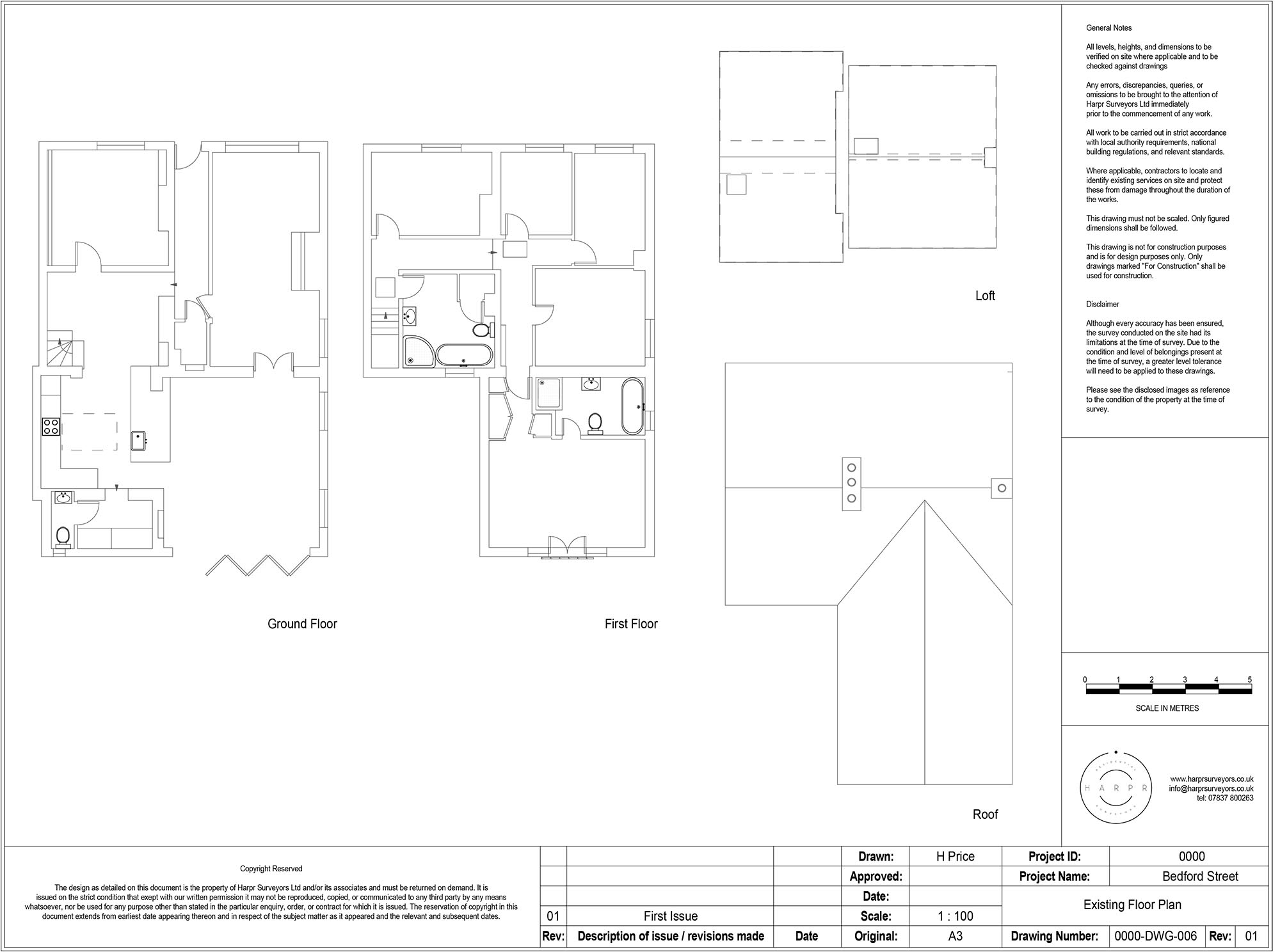 Bedford Street Hitchin Scale Floor Plan